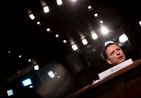 Ousted FBI director James Comey